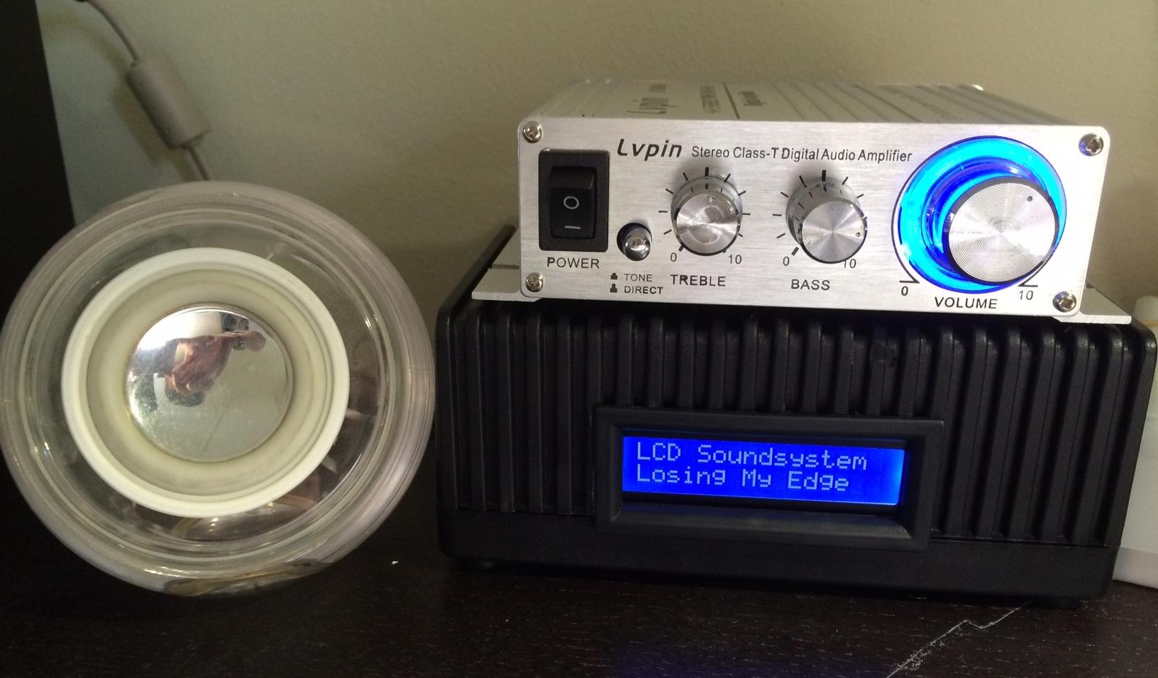 AndyPi LCD with Volumio (RaspyFi) - AndyPi