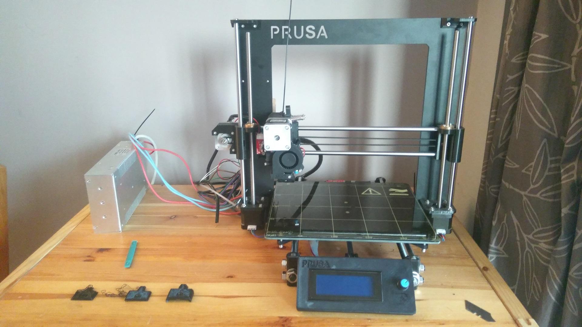 Dolly Build Notes (Prusa i3 Mk2 clone 3D printer) - AndyPi